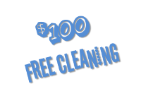 Follow Us for Free Cleaning